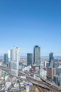 見下ろす名古屋駅風景の写真素材 [FYI01712438]