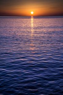 地中海の日の出の写真素材 [FYI01712466]