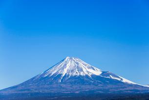 真っ青な空と富士山の写真素材 [FYI01712603]