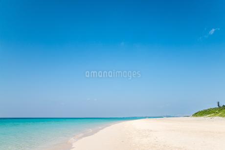 美しい与那覇前浜ビーチの写真素材 [FYI01712654]