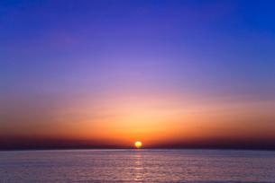 地中海の日の出の写真素材 [FYI01712726]