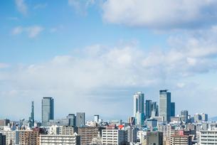 名駅地区の高層ビル群とグローバルゲートを望むの写真素材 [FYI01712757]