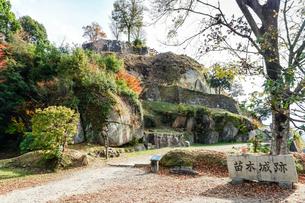 苗木城跡の写真素材 [FYI01713034]