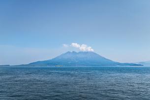 錦江湾と桜島の写真素材 [FYI01713062]