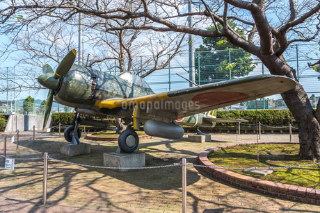 旧陸軍戦闘機隼の写真素材 [FYI01713149]