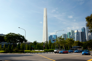 シンガポール戦争記念公園の塔の写真素材 [FYI01713777]