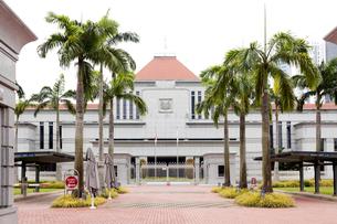 シンガポール国会議事堂(PARLIAMENT)正面の写真素材 [FYI01713973]