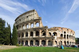 ローマ コロッセオの写真素材 [FYI01714537]