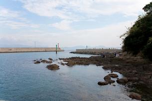 藍島の港の写真素材 [FYI01715212]
