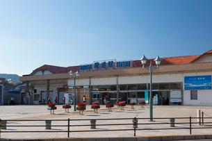 尾道駅の写真素材 [FYI01716490]