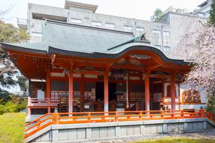 山代温泉 温泉寺の境内の写真素材 [FYI01716553]