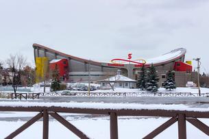 カナダ カルガリー スコシアバンク・サドルドームの写真素材 [FYI01716562]