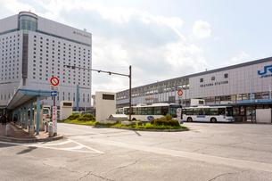岡山駅東口の写真素材 [FYI01716576]