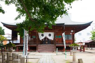 高山 飛騨国分寺,本堂の写真素材 [FYI01716648]