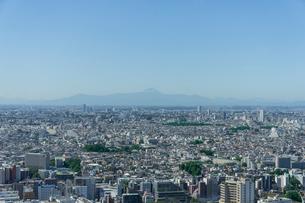 恵比寿から富士を仰ぐの写真素材 [FYI01716858]