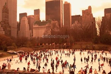 セントラルパーク    ニューヨーク アメリカの写真素材 [FYI01717238]