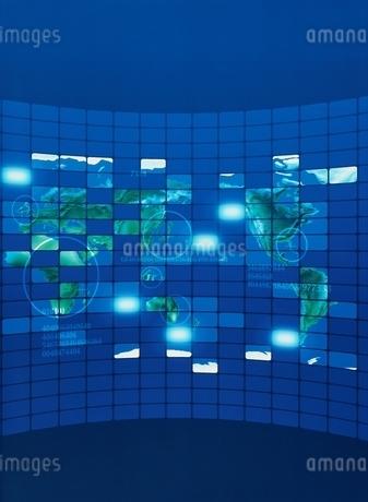ITイメージ  地図の写真素材 [FYI01717512]