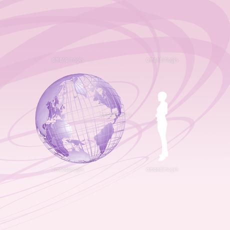 地球のイラスト素材 [FYI01717711]