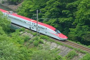 秋田新幹線(E6系)の写真素材 [FYI01717793]