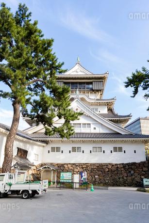 小倉城 天守閣の写真素材 [FYI01717939]
