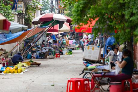 ベトナム,バッチャン村の写真素材 [FYI01718007]
