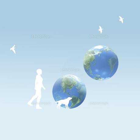 地球のイラスト素材 [FYI01718036]