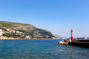 聖イヴァン要塞から見た旧港の写真素材 [FYI01718181]