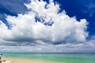 新城海岸から望む東シナ海の写真素材 [FYI01718215]