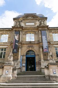 ルーアン美術館入口の写真素材 [FYI01718239]