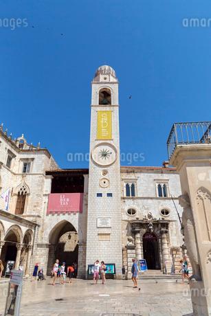 ルジャ広場と時計塔の写真素材 [FYI01718313]