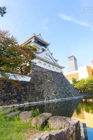 大手先門周辺から望む小倉城の写真素材 [FYI01718318]