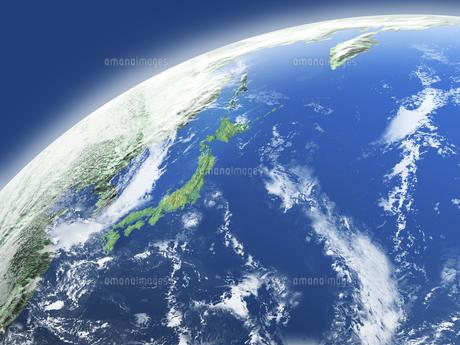 地球  CGイラストの写真素材 [FYI01718462]