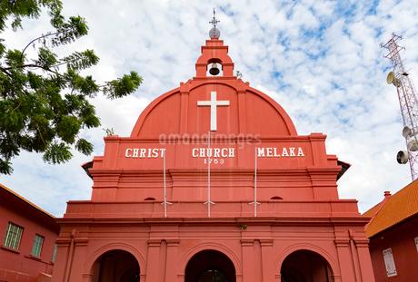マラッカ キリスト教会の写真素材 [FYI01718490]