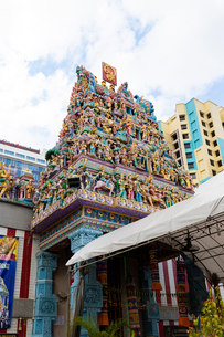 スリ・ヴィラマカリアマン寺院のゴープラムの写真素材 [FYI01718560]