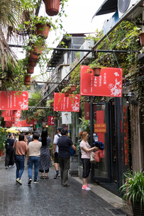 上海、田子坊の写真素材 [FYI01718614]