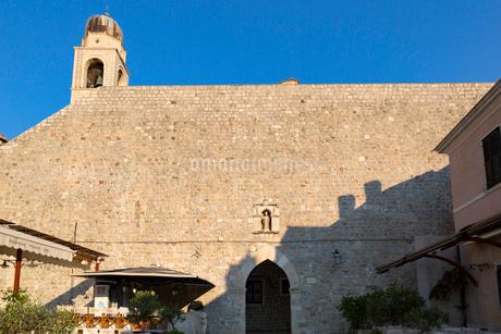 スポンザ宮殿裏、ルジャ広場の外壁の写真素材 [FYI01718769]