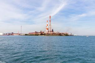 北九州小倉の工業地帯の写真素材 [FYI01718872]