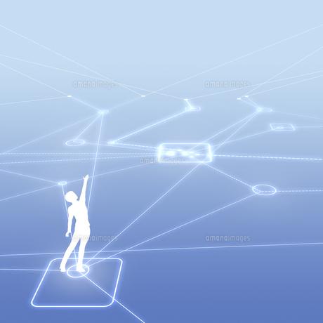 ネットワークのイラスト素材 [FYI01718891]