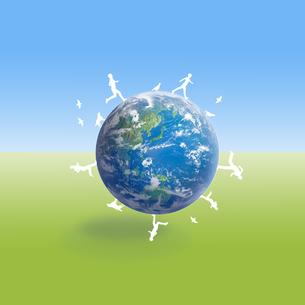 地球イメージのイラスト素材 [FYI01718912]