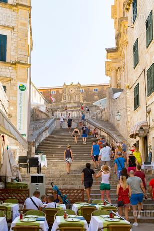 聖イグナチオ教会への階段の写真素材 [FYI01719071]