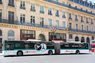 パリ、エアポートバスの写真素材 [FYI01719275]