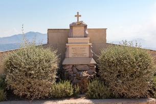 スルジ山、ROBERT IVUSIC記念碑の写真素材 [FYI01719498]