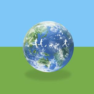 地球イメージのイラスト素材 [FYI01719642]