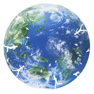 地球イメージのイラスト素材 [FYI01719666]