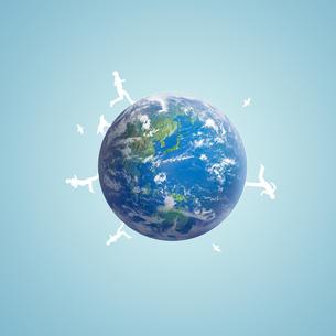 地球イメージのイラスト素材 [FYI01719740]