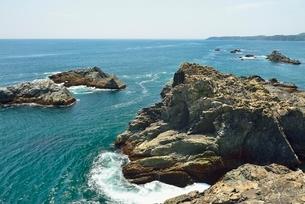 碁石海岸の写真素材 [FYI01720011]