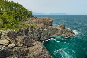 黒崎仙峡、海岸風景の写真素材 [FYI01720149]