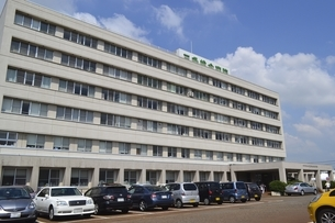 三条総合病院の写真素材 [FYI01720592]