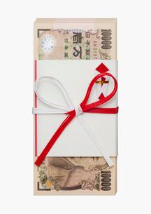 のしのついた一万円の札束の写真素材 [FYI01720722]