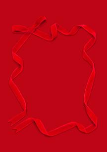ベルベットのリボンの写真素材 [FYI01720787]